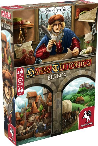 Hansa Teutonica Big Box board game