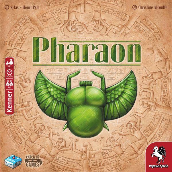 Pharaon Board Game cover