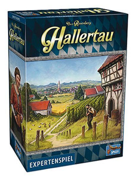 Hallertau Board Game cover (Lookout Games)