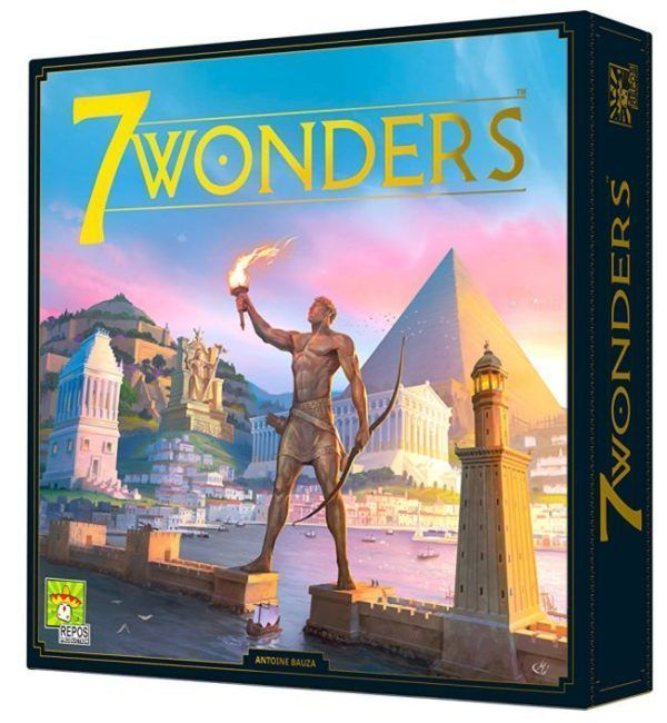 7 Wonders Second Edition board game box