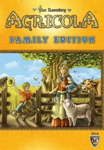 Agricola Family Edition cover