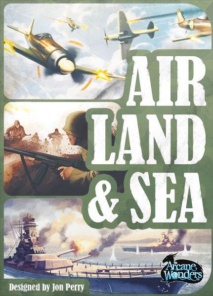 Air, Land, & Sea Card Game cover