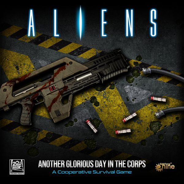 Aliens Another Glorious Day in the Corps Board Game