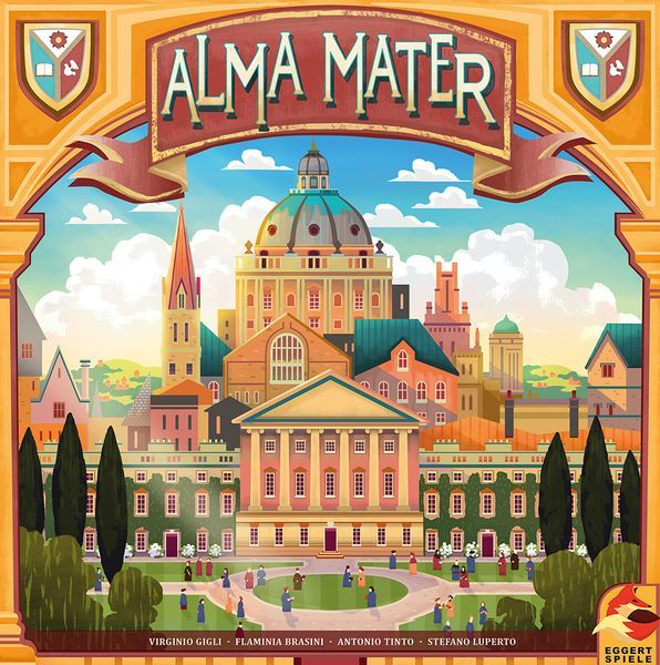 Alma Mater Board Game Cover