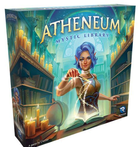 Atheneum Mystic Library board game cover