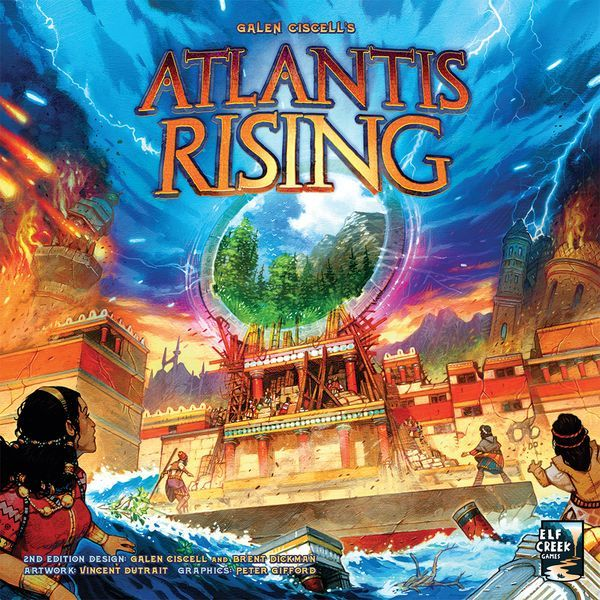 Atlantis Rising (2nd Edition) cover