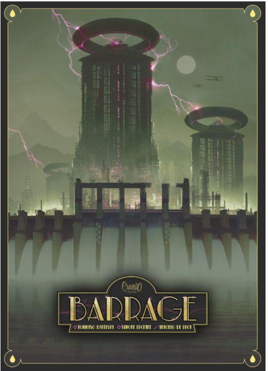 Barrage board game cover