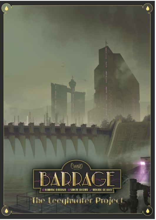 Barrage The Leeghwater Project Expansion cover