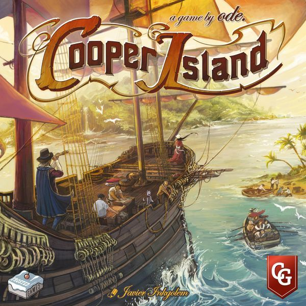 Cooper Island Board Game cover
