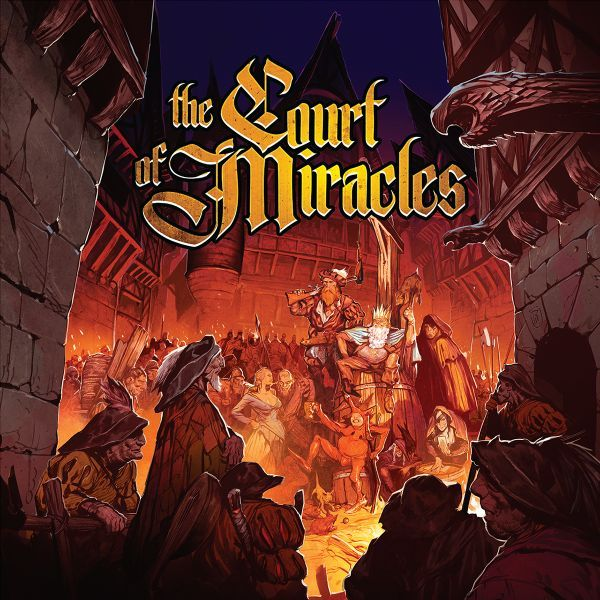 The Court of Miracles board game box