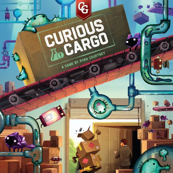Curious Cargo board game cover