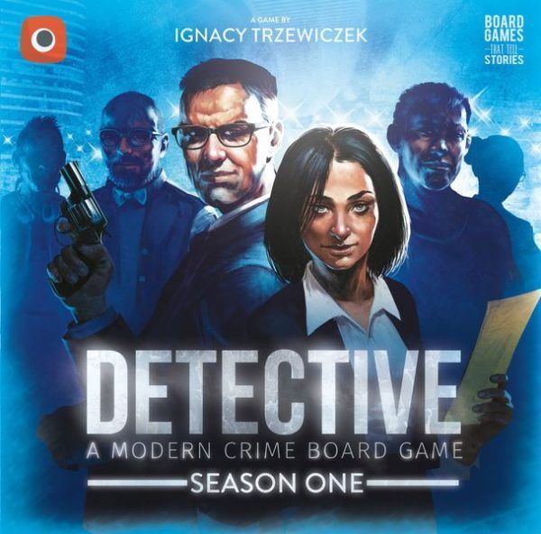 Detective Season One board game