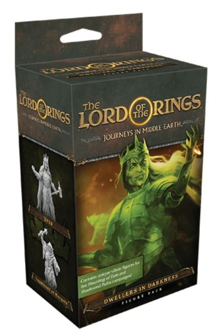 Lords of the Rings Journeys in Middle Earth Dwellers in Darkness box