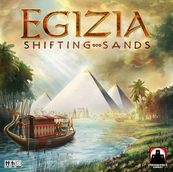 Egizia Shifting Sands Board Game cover