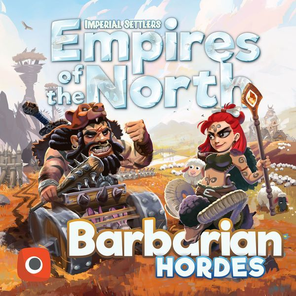 Imperial Settlers Empires of the North Barbarian Hordes expansion cover