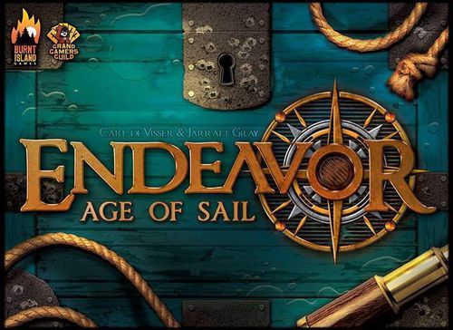 Endeavor Age of Sail Board Game cover