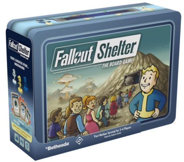 Fallout Shelter Board Game cover
