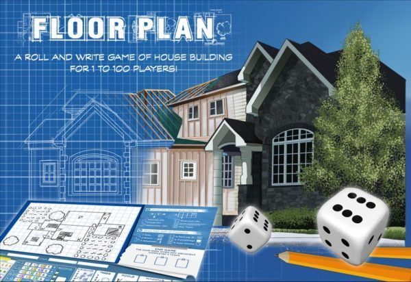 Floor Plan Board Game cover