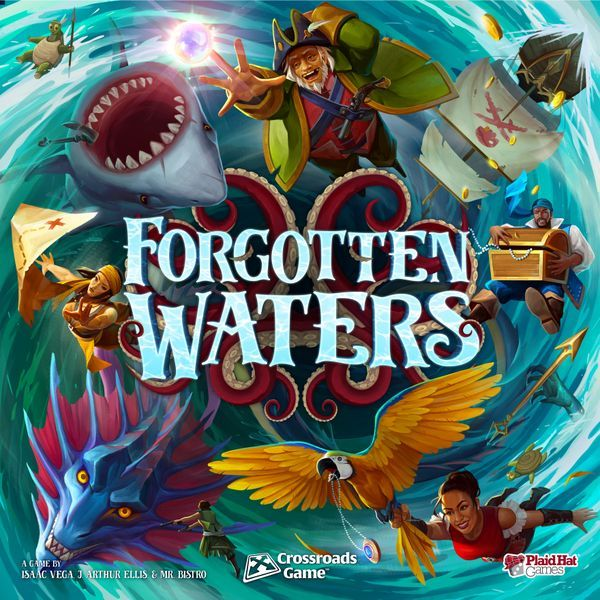 Forgotten Waters Board Game cover
