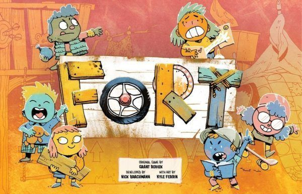 Fort Card Game cover