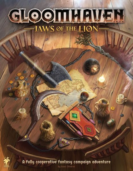 Gloomhaven Jaws of the Lion cover