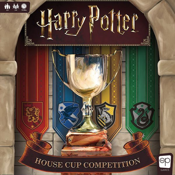 Harry Potter House Cup Competition board game cover