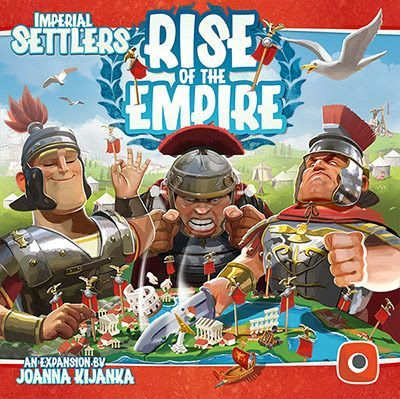Imperial Settlers Rise of the Empire expansion cover