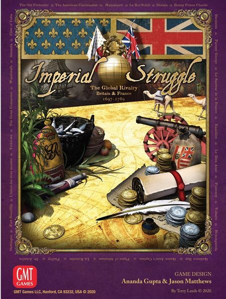 Imperial Struggle Board Game cover