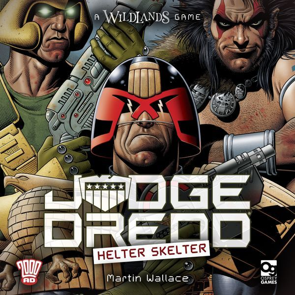 Judge Dredd Helter Skelter cover
