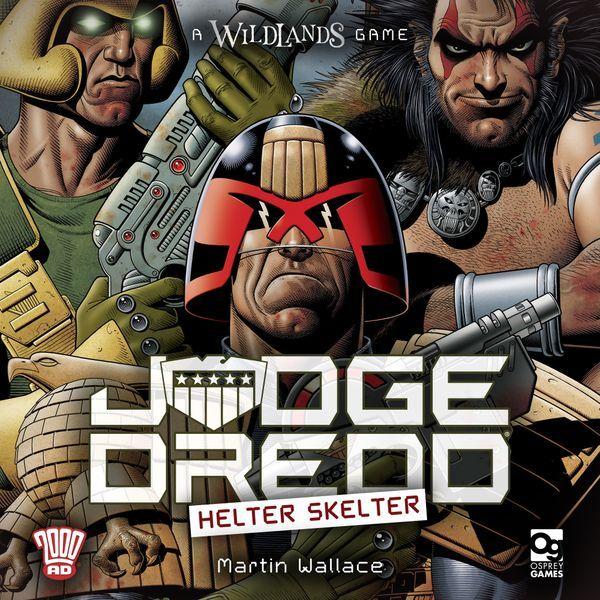 Judge Dredd Helter Skelter cover