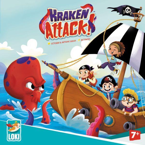 Kraken Attack board game