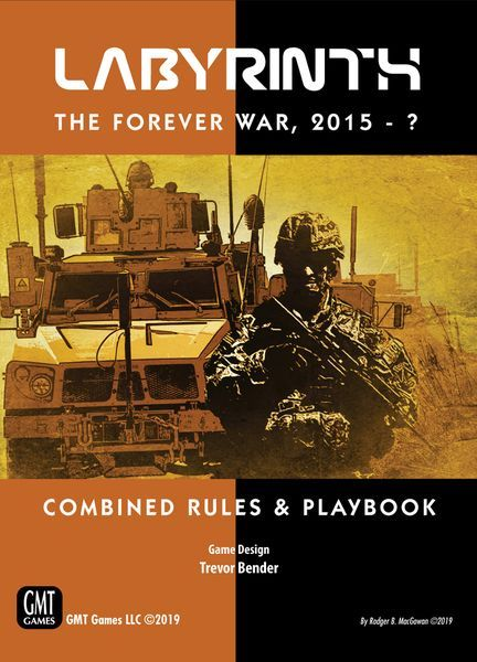 Labyrinth The Forever War expansion cover