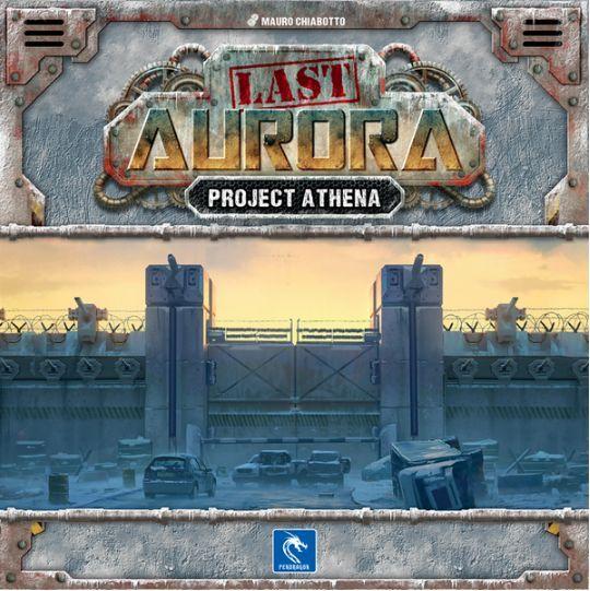 Last Aurora Project Athena cover