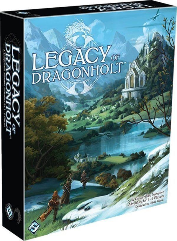 Legacy of Dragonholt cover