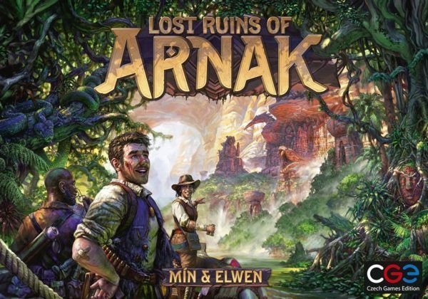 Lost Ruins of Arnak board game cover