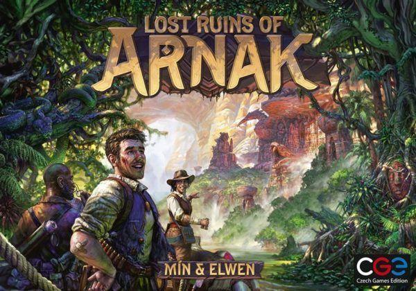 Lost Ruins of Arnak board game cover