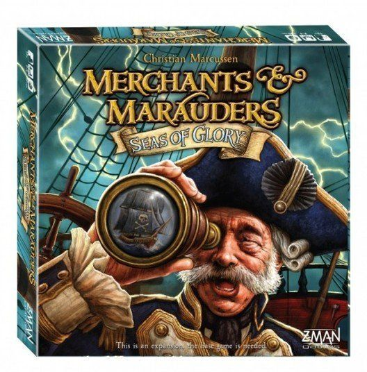 Merchants & Marauders Seas of Glory cover
