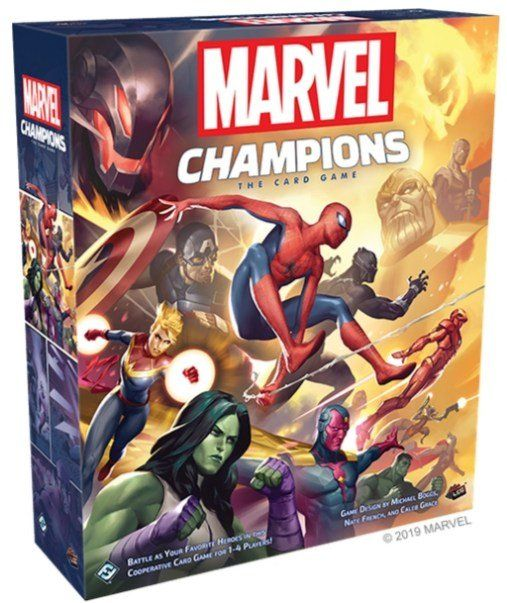 Marvel Champions The Card Game cover
