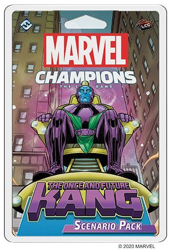 Marvel Champions The Once and Future Kang pack
