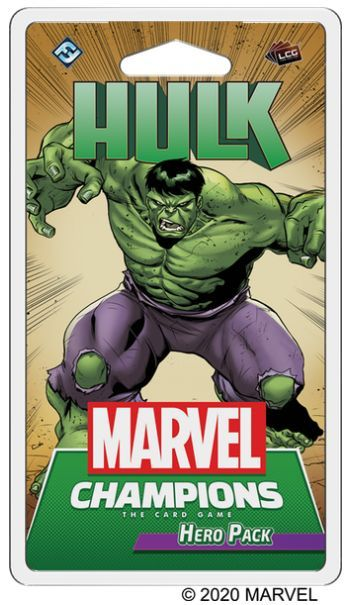 Marvel Champions Hulk Hero Pack