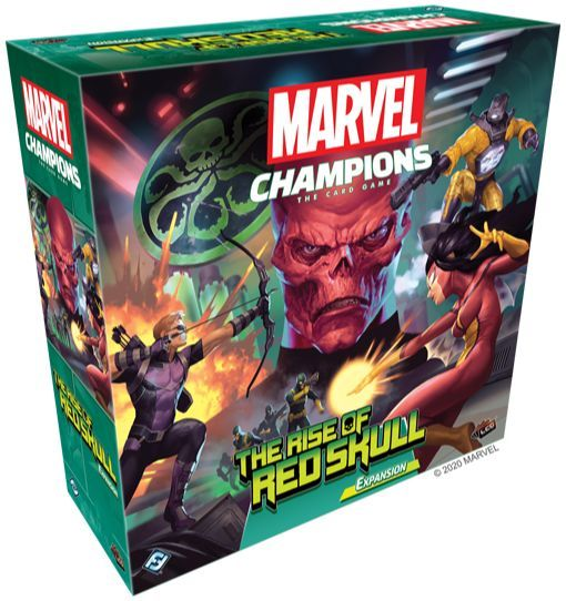 Marvel Champions Rise of Red Skull expansion