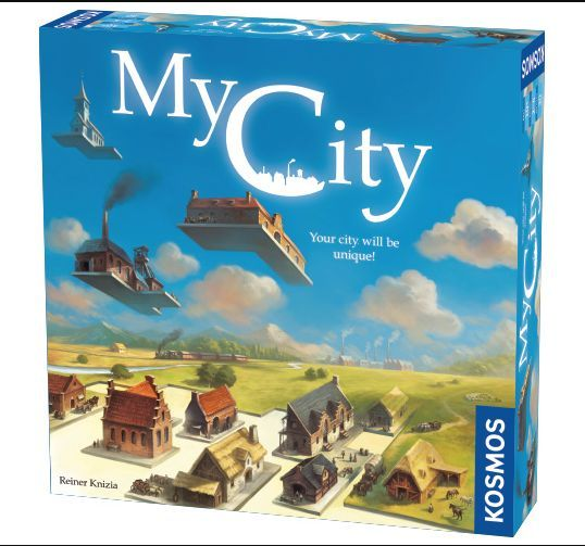 My City Board Game cover
