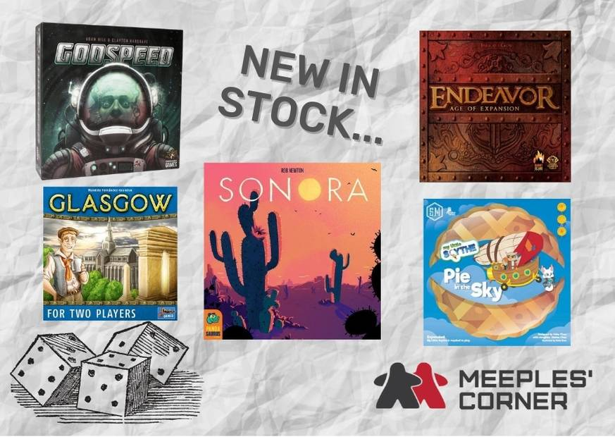 Five new board games - Meeples Corner