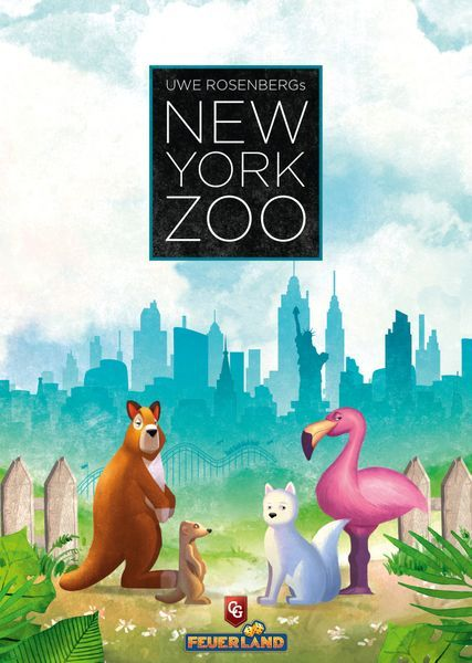 New York Zoo board game cover