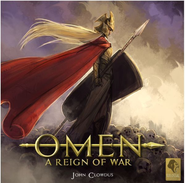 Omen Reign of War card game cover