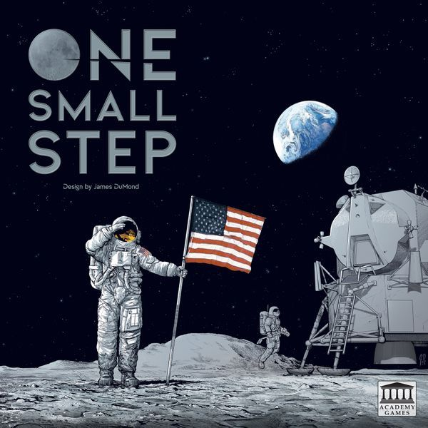 One Small Step Board Game cover