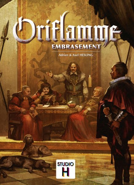 Oriflamme Embrasement card game
