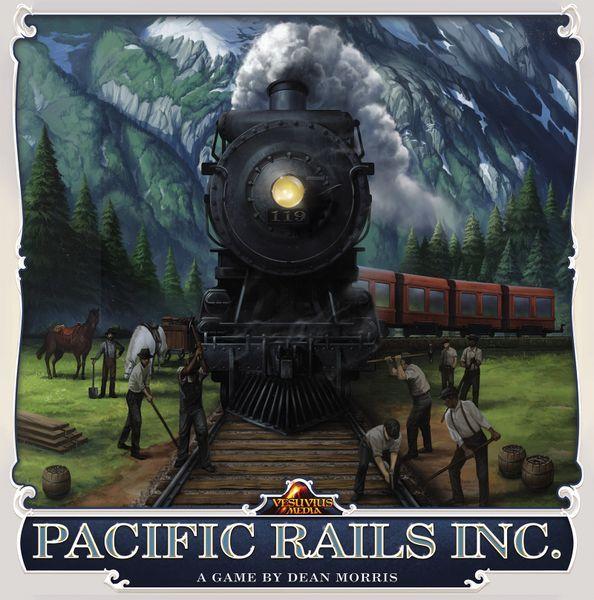 Pacific Rails Inc Board Game