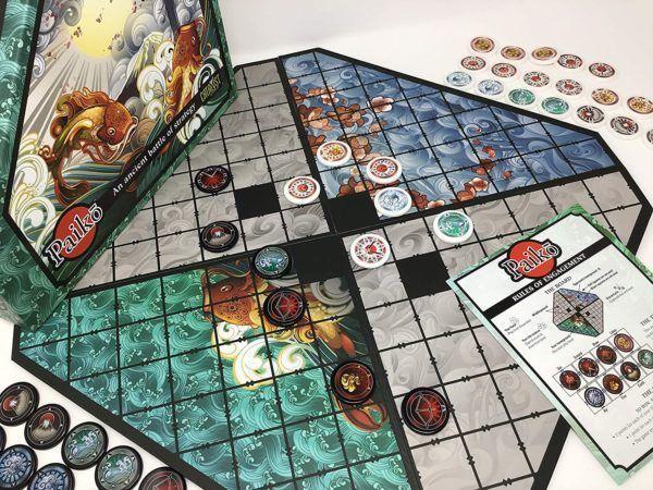 Paiko Board Game Setup