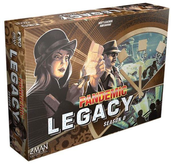Pandemic Legacy Season 0 cover